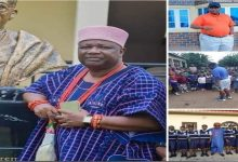 Nigerian King Built School with No School Fees, Free Hostel, Free Food, and Even Teaches There