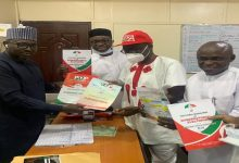 EKITI 2022: I am Confident of Winning Primary Election - Eleka After Picking PDP Governorship Nomination Form In Abuja